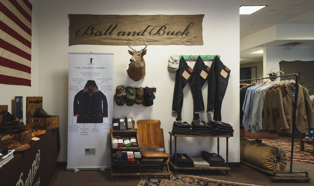 // Denver commercial photography clothes store product photos