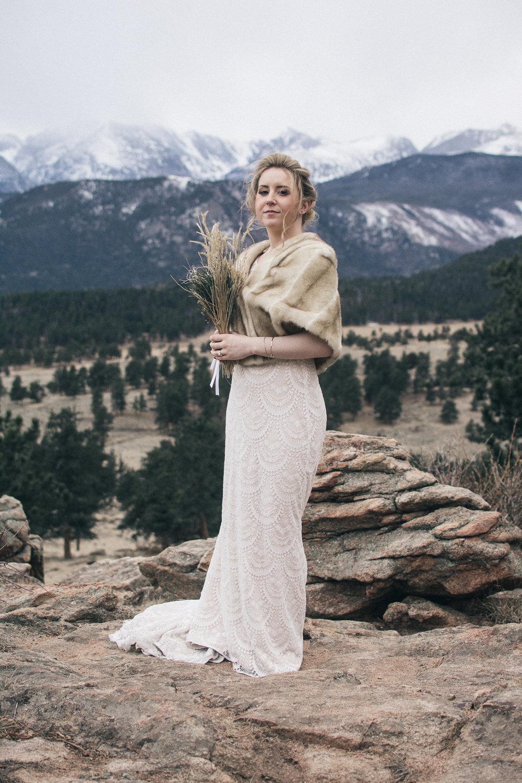 Colorado elopement wedding photographer - The Drawhorns