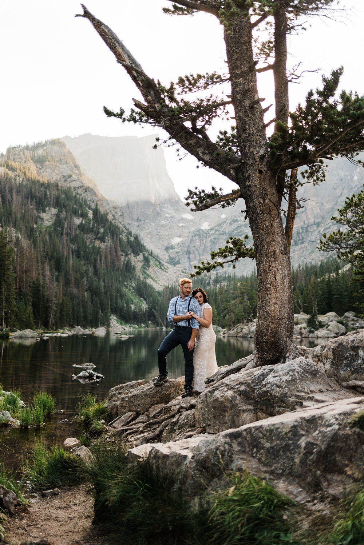 Katie & Corey | Elopement in Rocky Mountain National Park