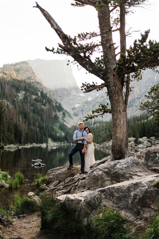 Katie & Corey   Elopement in Rocky Mountain National Park