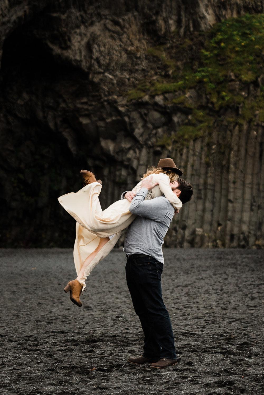 Sarah & Mark   Honeymoon in Iceland