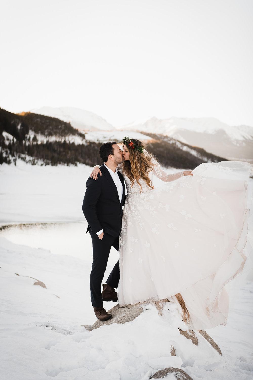 Jana & Mark   Elopement in Colorado