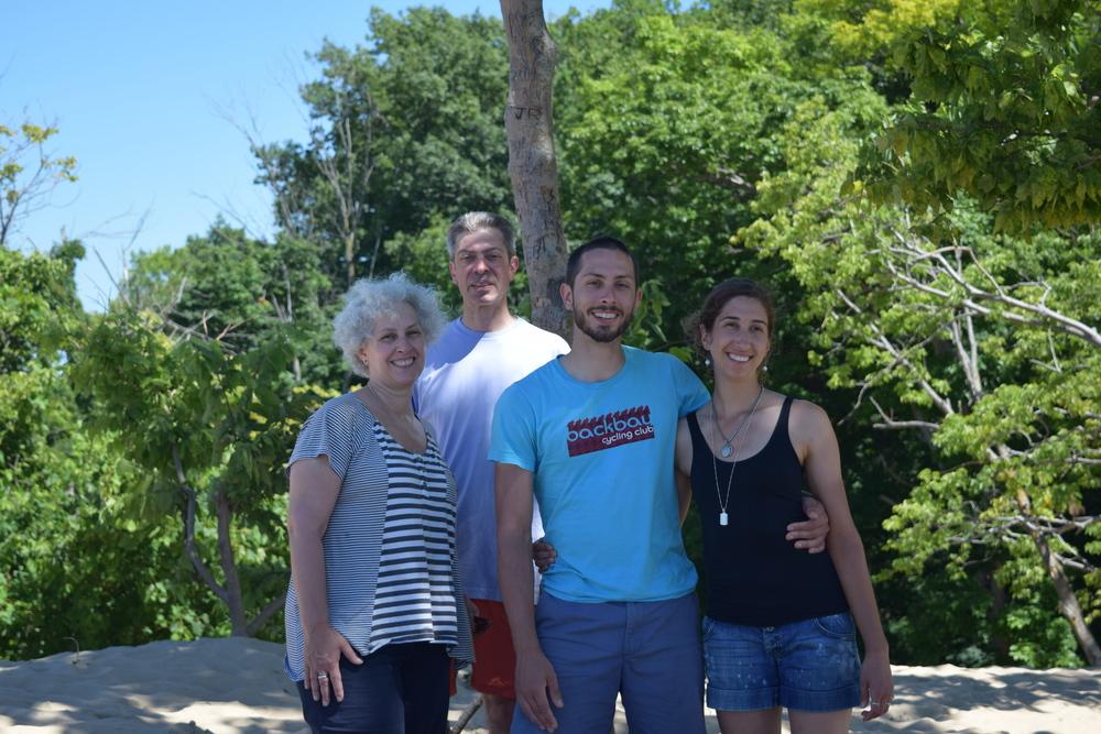 We climbed some massive sand dunes in Michigan.HELLO PRESTON'S FAMILY