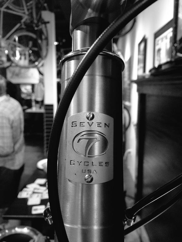 My Beautiful Seven, on display at Ride Studio Cafe at the Team Averica Launch Party