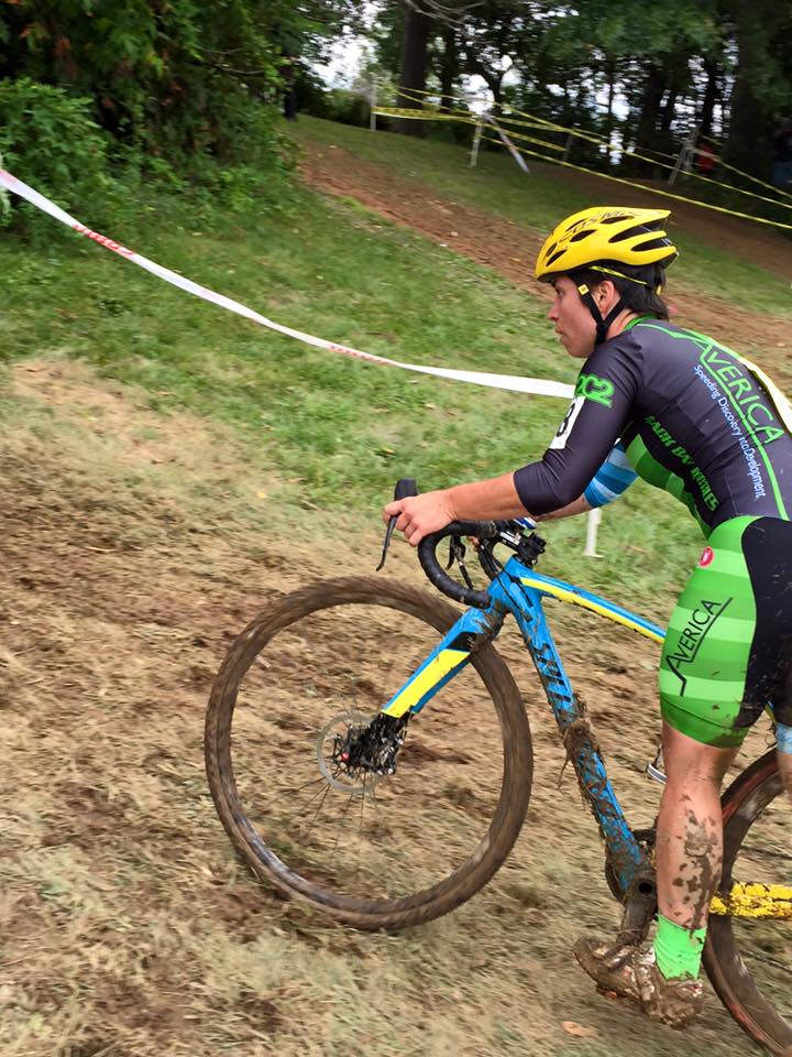 Erin, my new companion in all things cyclocross and holder of immense racing knowledge. Go Erin!