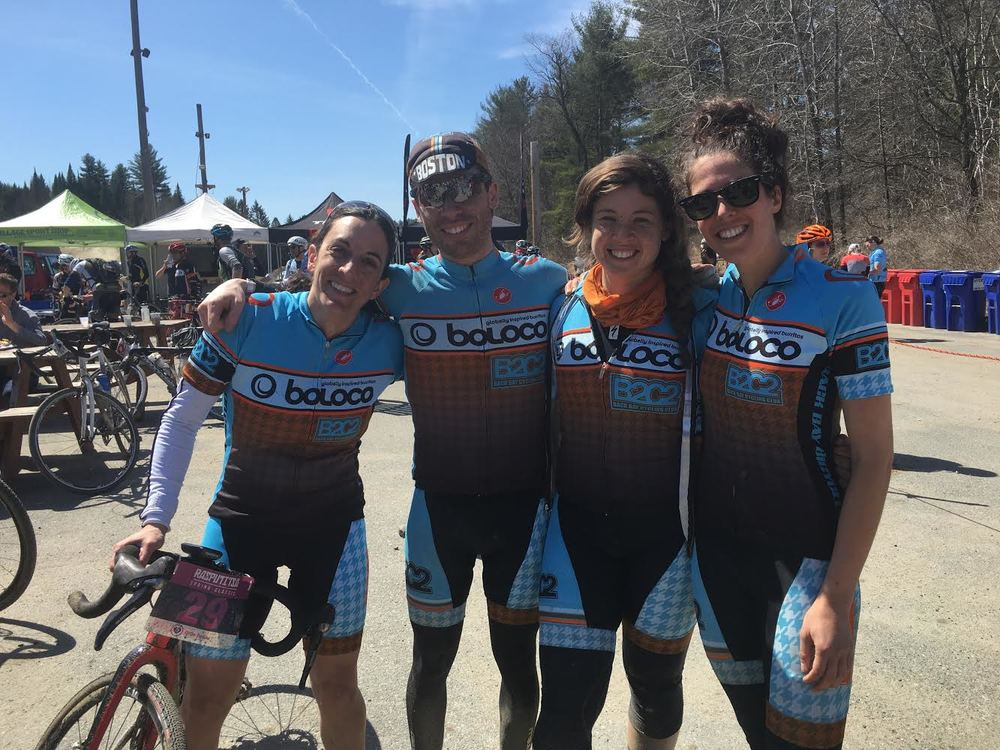 A bunch of happy B2C2 Gravel Grinders