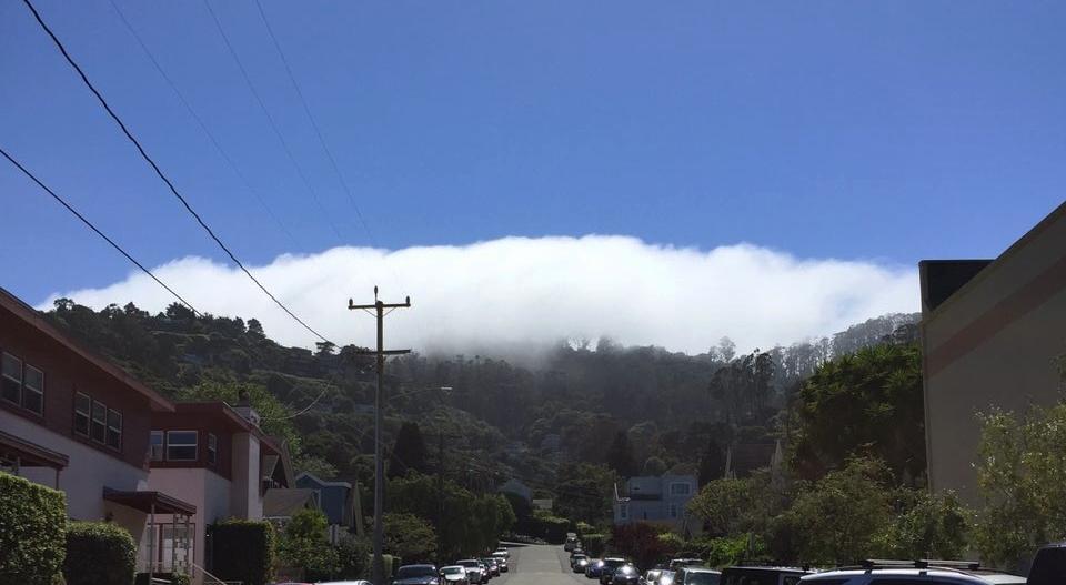 La niebla que amenazó durante todo el día con devorarnos, pero no.
