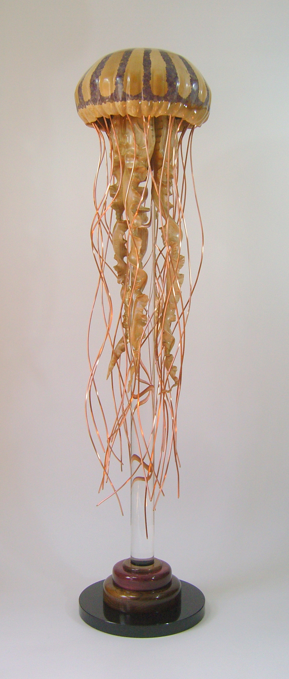 Jellyfish Series Sculpture #4 by Sam Hingston