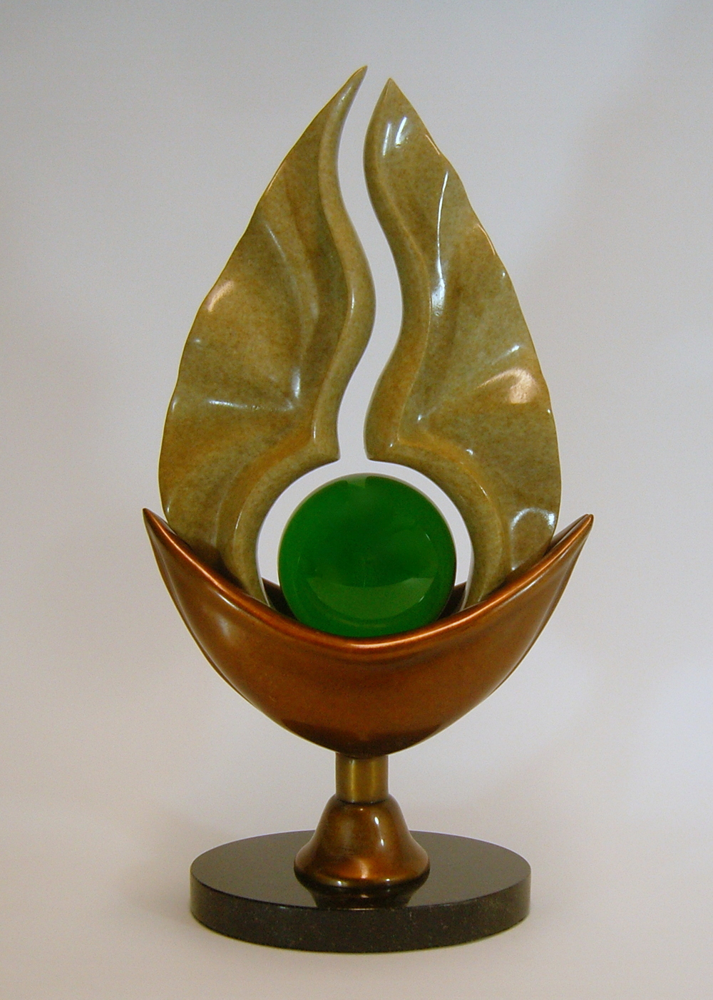 Seed (bronze) by Sam Hingston