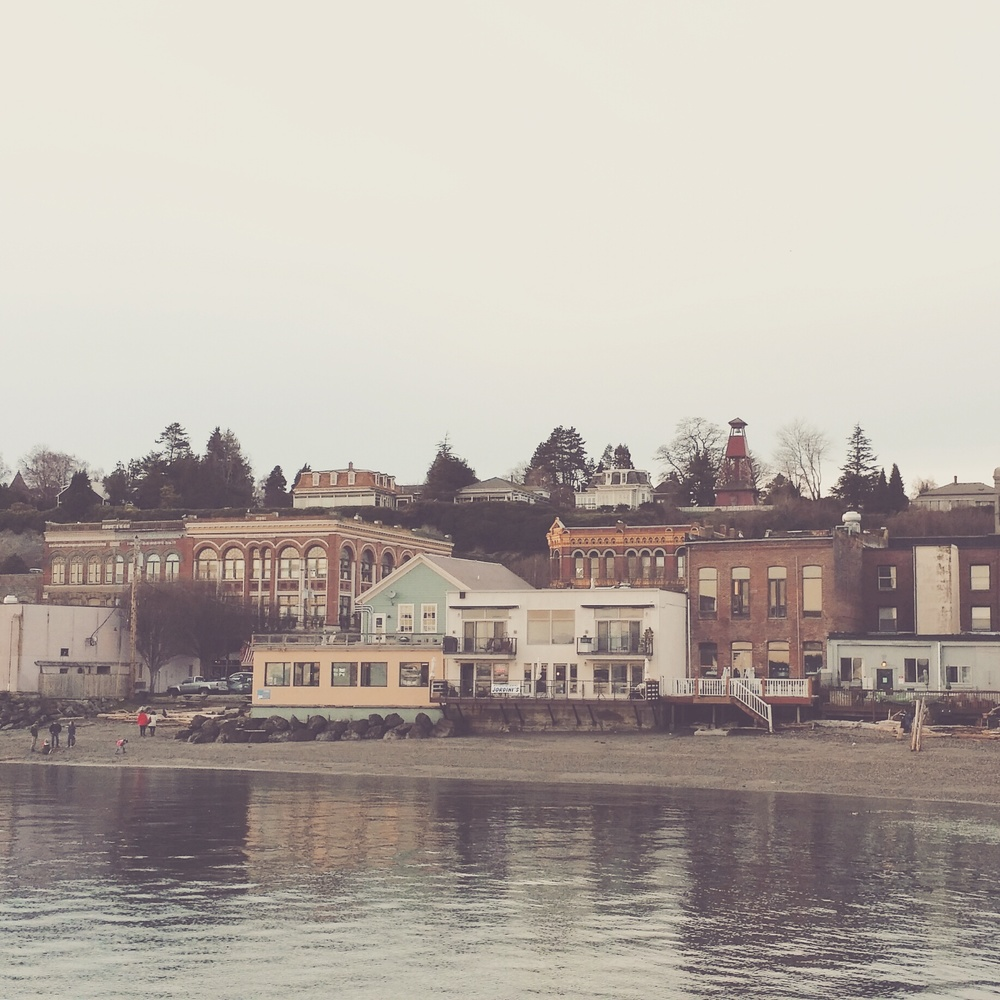 Port Townsend from Taylor Street Pier
