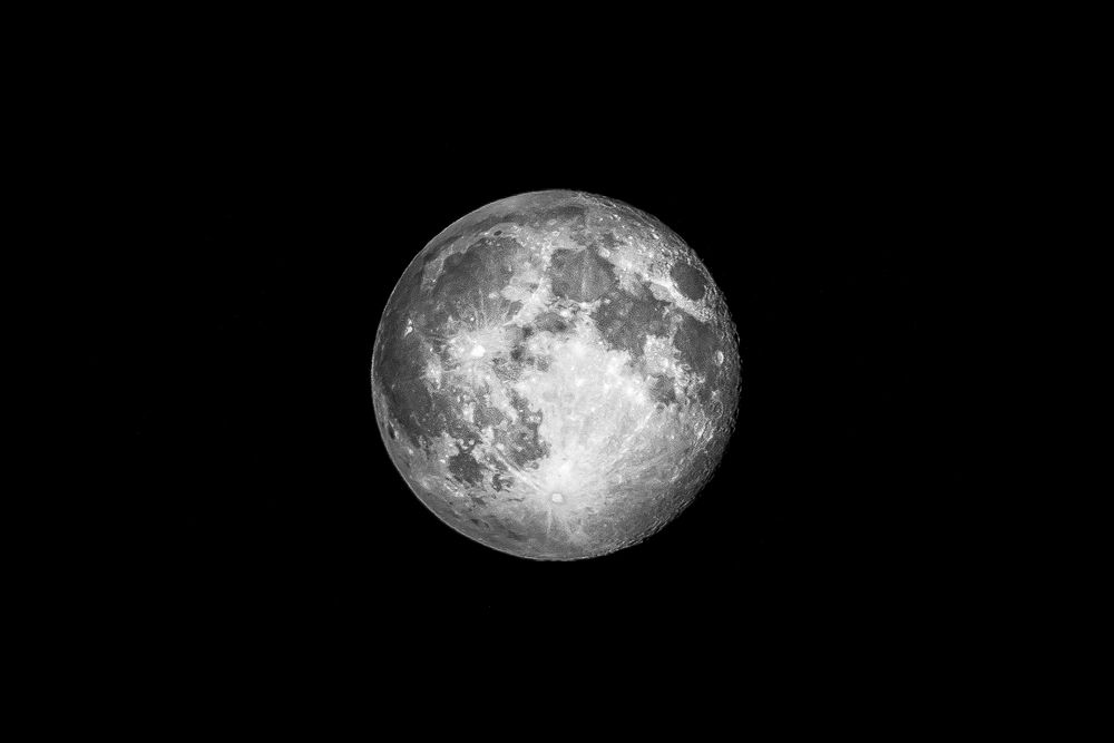Black and white version of the Super Moon as featured on Derek the Weather's BBC Blog -   http://www.bbc.co.uk/blogs/wales/posts/Halos-double-rainbows-supermoons-and-meteors