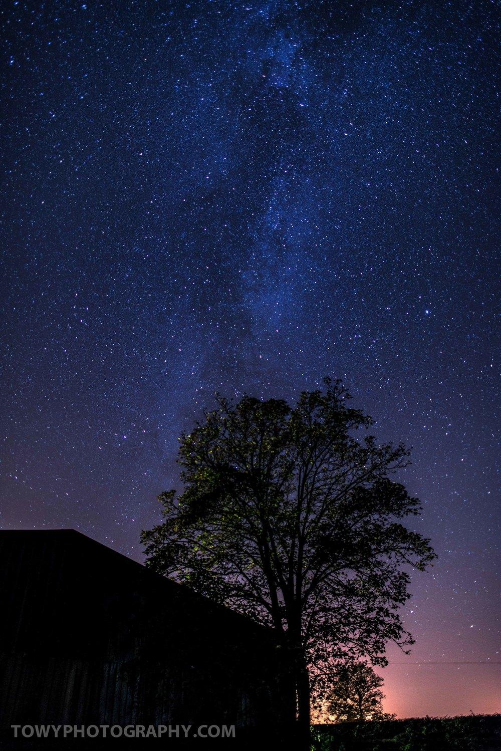 Milky Way on the Farm