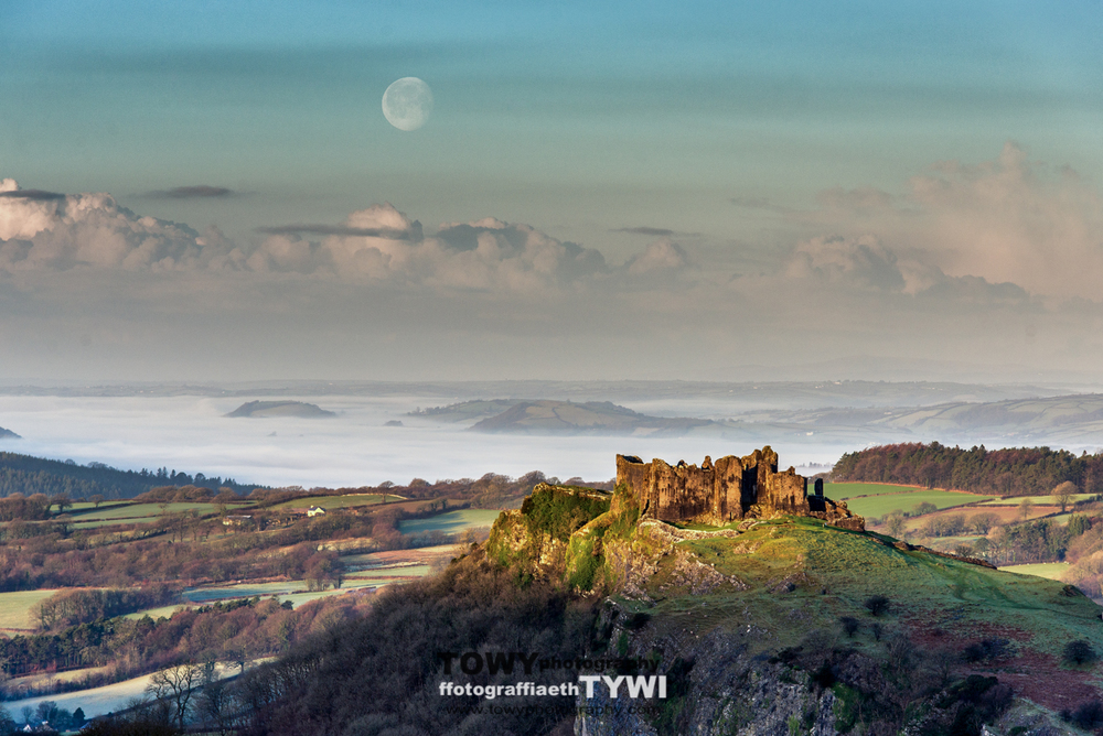 Carreg Cennen - nearly 450 Facebook likes