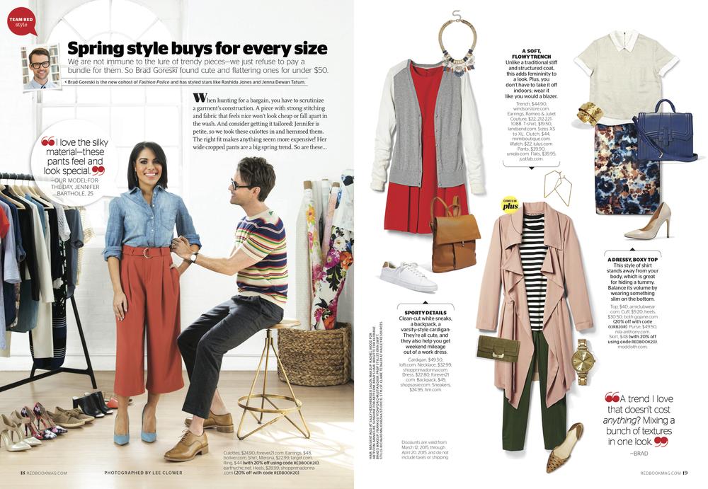 Redbook Magazine, April 2014 issue