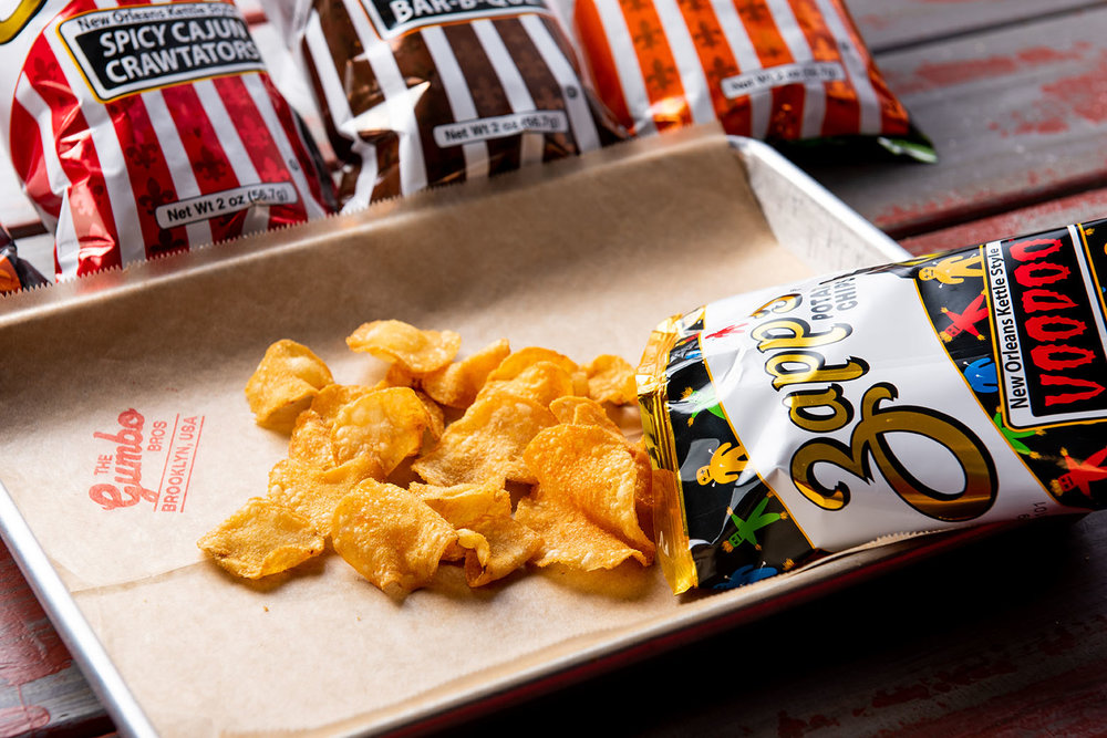 Zapp's Potato Chips and New Orleans Cooking NYC