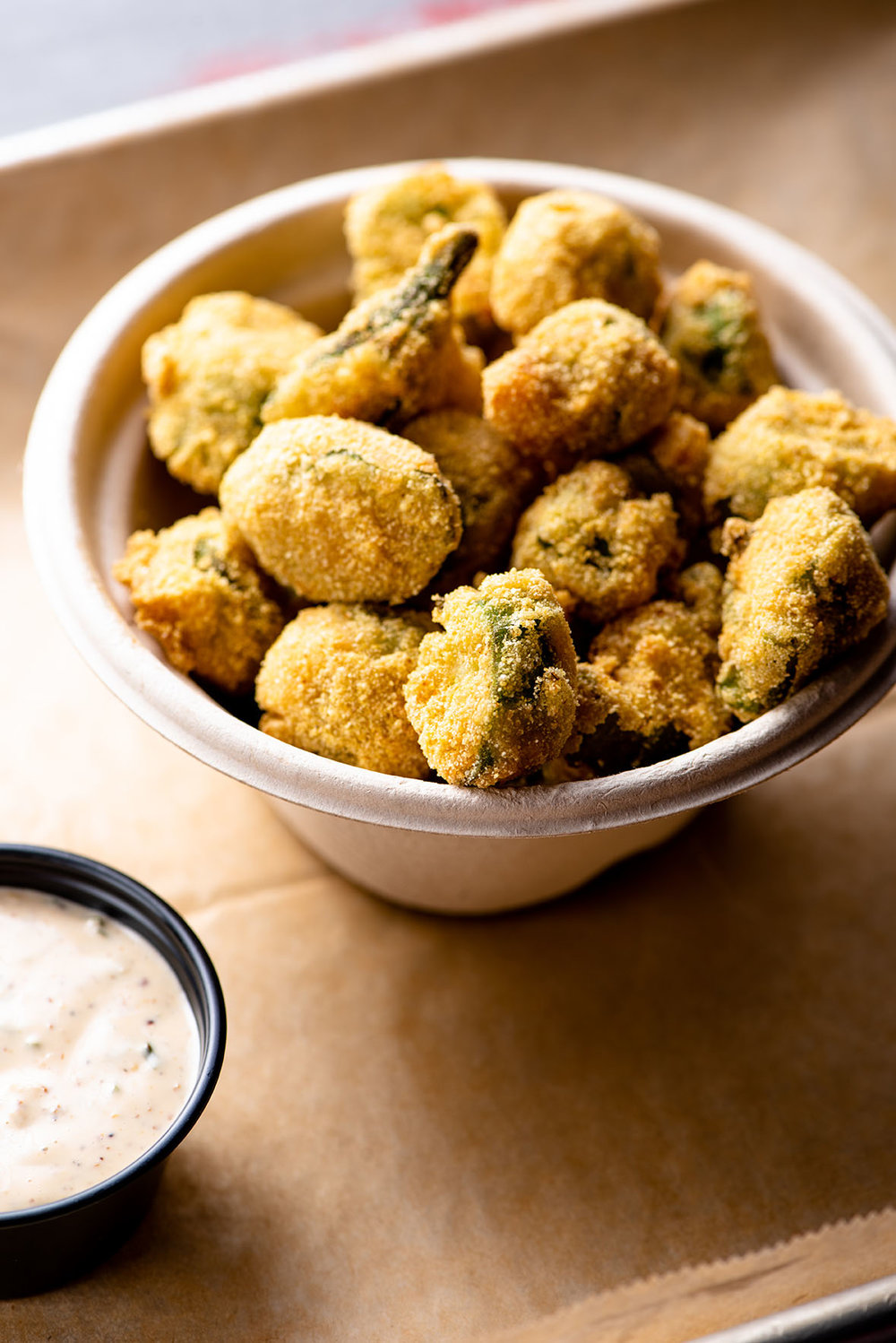 Fried Pickles and Louisiana Specialties NYC