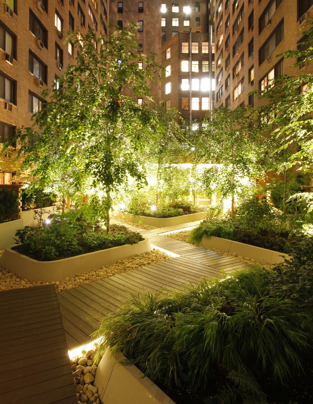 Urban forest atrium landscape terrain nyc for Terrain landscape architecture
