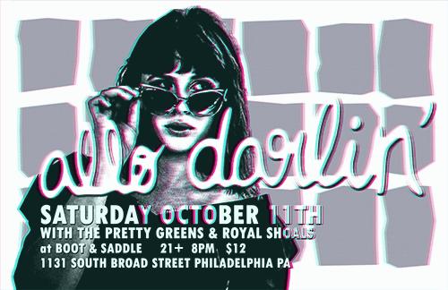 Allo Darlin' / PGs / Royal Shoals Boot & Saddle: October 2014 Philadelphia PA (USA)