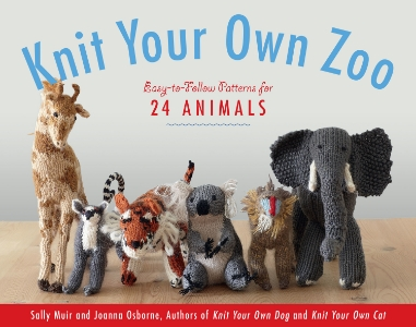 Knit Your Own Zoo Easy-to-Follow Patterns for 24 Animals Sally Muir and Joanna Osborne From the authors of the beloved and best-selling Knit Your Own series comes Knit Your Own Zoo! With easy-to-follow, step-by-step instructions for 24 animals, it's an irresistible guide to knitting a single exotic pet or an entire stuffed menagerie.