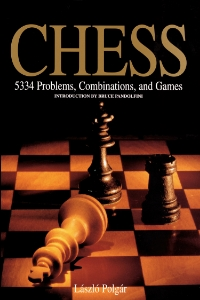 Chess 5,334 Problems, Combinations, and Games Laszlo Polgar Introduction by Bruce Pandolfini The most complete collection of chess problems ever published, including 5,334 instructional situations, presented by the world's leading chess teacher.