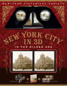 New York City in 3D In the Gilded Age Esther Crain Be transported to New York during the Gilded Age and experience daily life in one of the world's most vibrant cities through mesmerizing, contemporary 3D photography and exciting tales of the time.