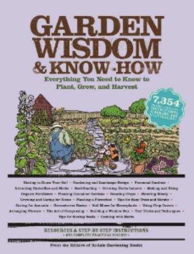 Garden Wisdom & Know How Book