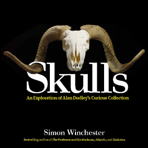 Skulls An Exploration of Alan Dudley's Curious Collection Simon Winchester Skulls is a beautiful, spellbinding exploration of more than 300 different animal crania—amphibians, birds, fish, mammals, and reptiles—written by New York Times best-selling author Simon Winchester and produced in collaboration with Theodore Gray and Touch Press, the geniuses behind The Elements and Solar System.