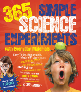 365 Simple Science Experiments with Everyday Materials E. Richard Churchill, Louis V. Loeschnig, and Muriel Mandell Illustrated by Frances W. Zweifel Volume One of Black Dog's classic collection of science experiments, this book includes 365 easy-to-follow, hands-on projects, so kids 9-12 can be excited about science every day of the year.