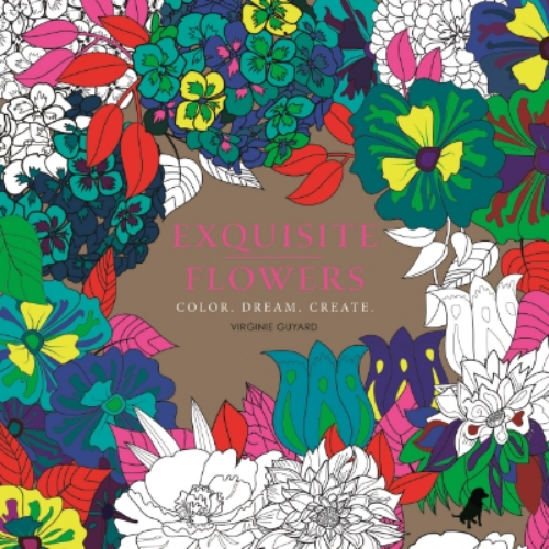 Exquisite Flowers Color. Dream. Create Virginia Arraga de Malherbe Two unique adult coloring books, Magic Gardens and Exquisite Flowers, are the most lush and beautifully produced of their kind to date, including stunning, fluorescent exposed-board covers and three colors of metallic ink throughout.