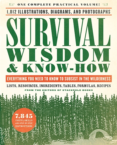Survival Wisdom & Know-How Everything You Need to Know to Subsist in the Wilderness From the Editors of Stackpole Books Survival Wisdom & Know-How is the most complete, all-in-one volume on every aspect of outdoor adventure and survival—and a bestselling Black Dog & Leventhal title—is now available in a convenient, compact size.