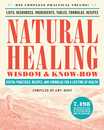 Natural Healing Wisdom & Know-How Useful Practices, Recipes, and Formulas for a Lifetime of Health Amy Rost This complete home reference for natural and alternative health and healing—and a Black Dog & Leventhal bestselling title—is now available in a convenient, compact size.