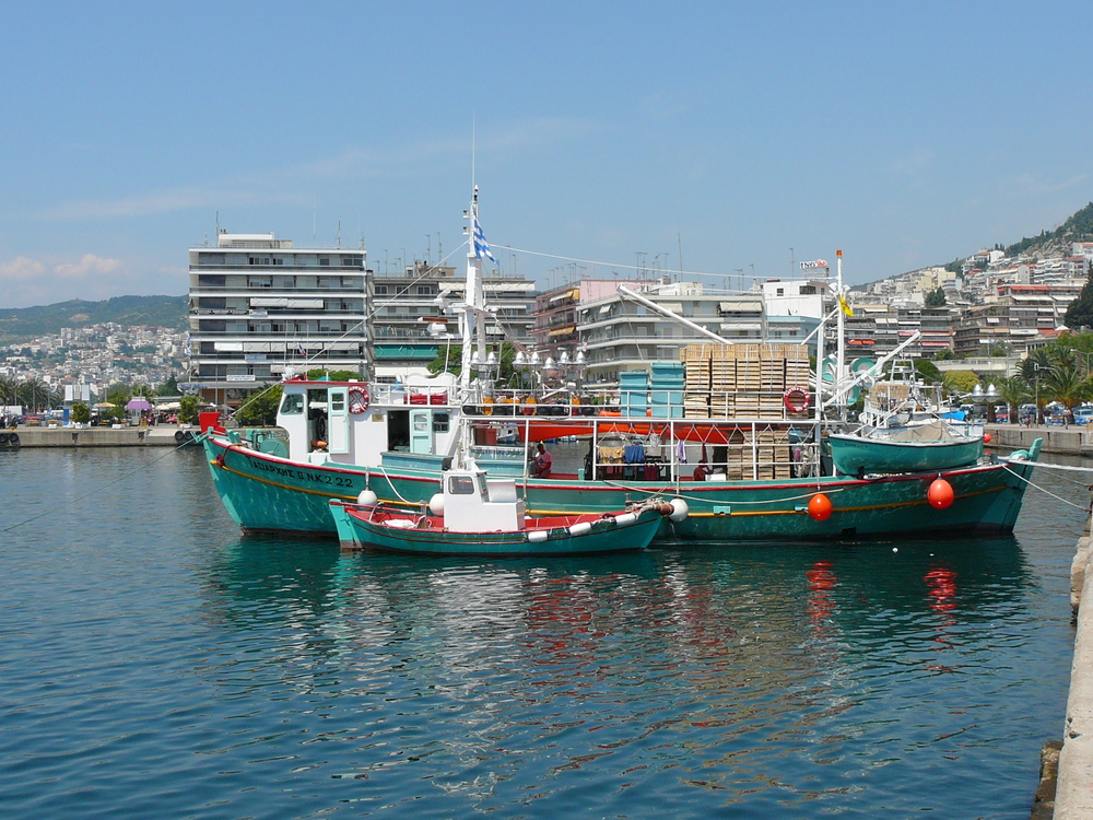 PORT OF KAVALA