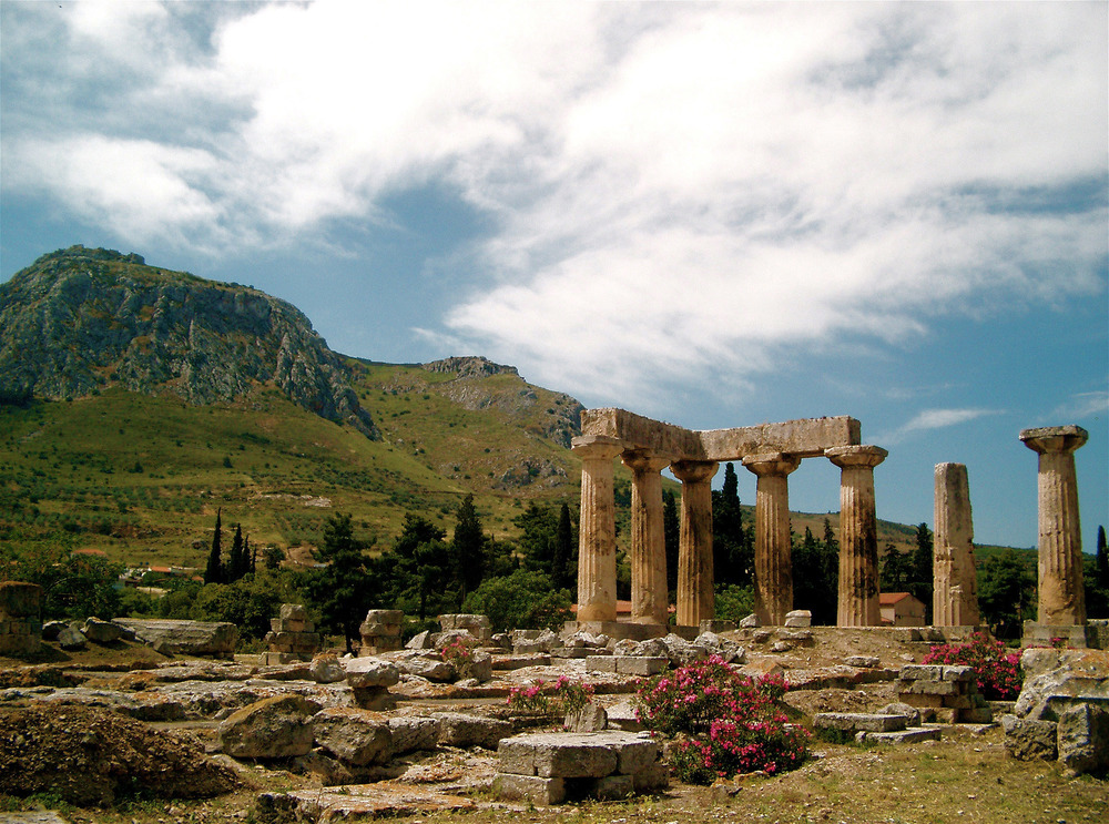ancient corinth and acrocorinth