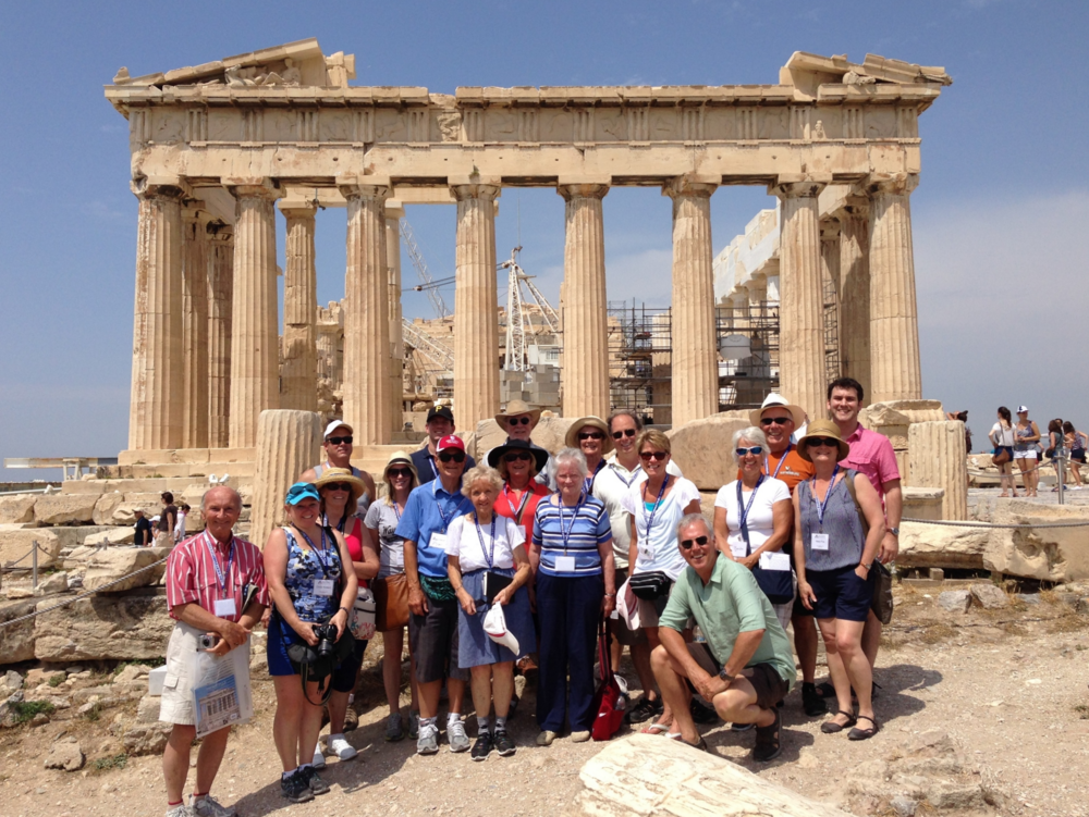 the parthenon