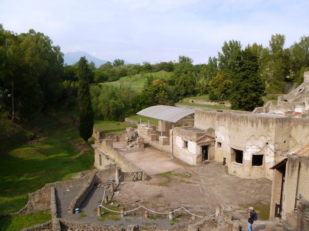 ancient suburban baths in pompeii