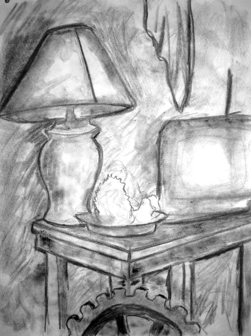 Still Life 2, Charcoal, 2010