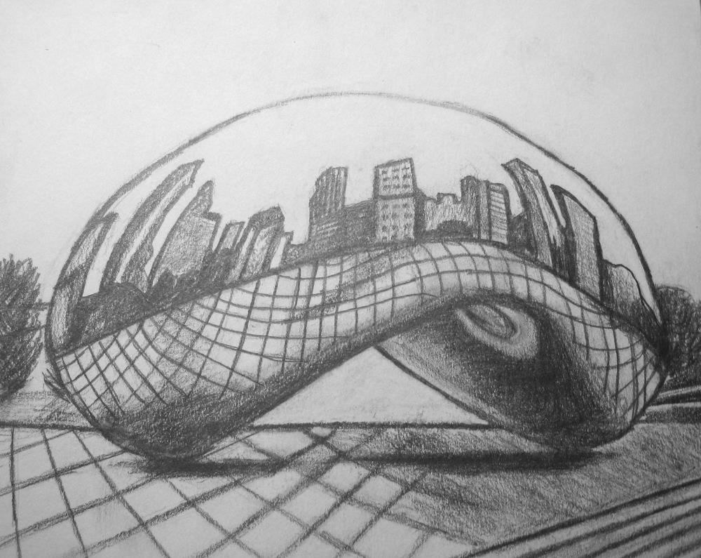 Millennium Park, Pencil, 2009