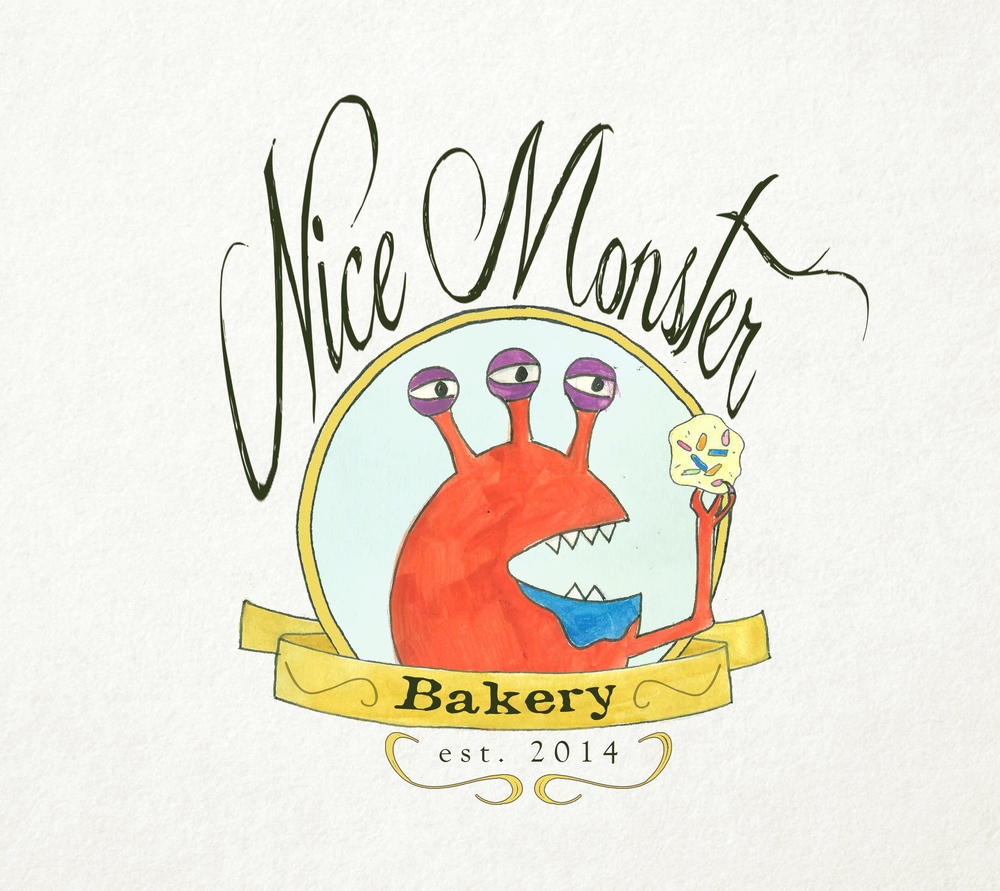 Nice Monster Bakery Logo