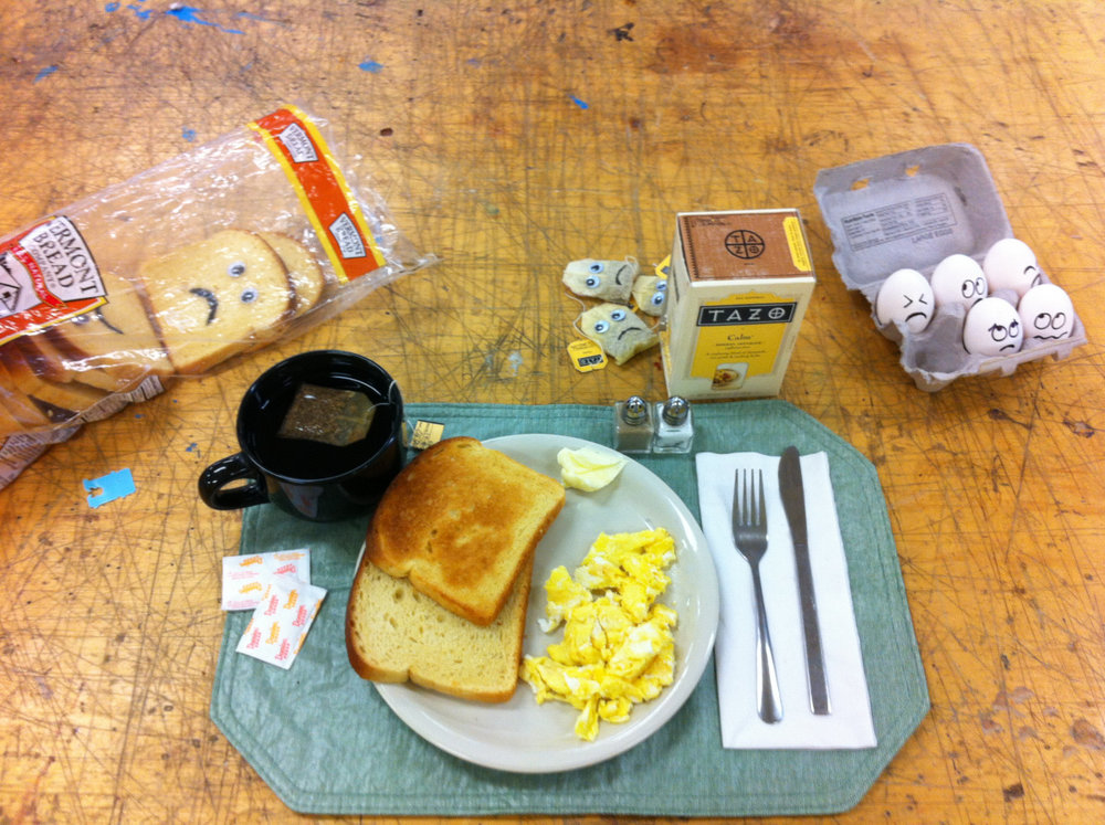 A Very Nervous Breakfast, 2012