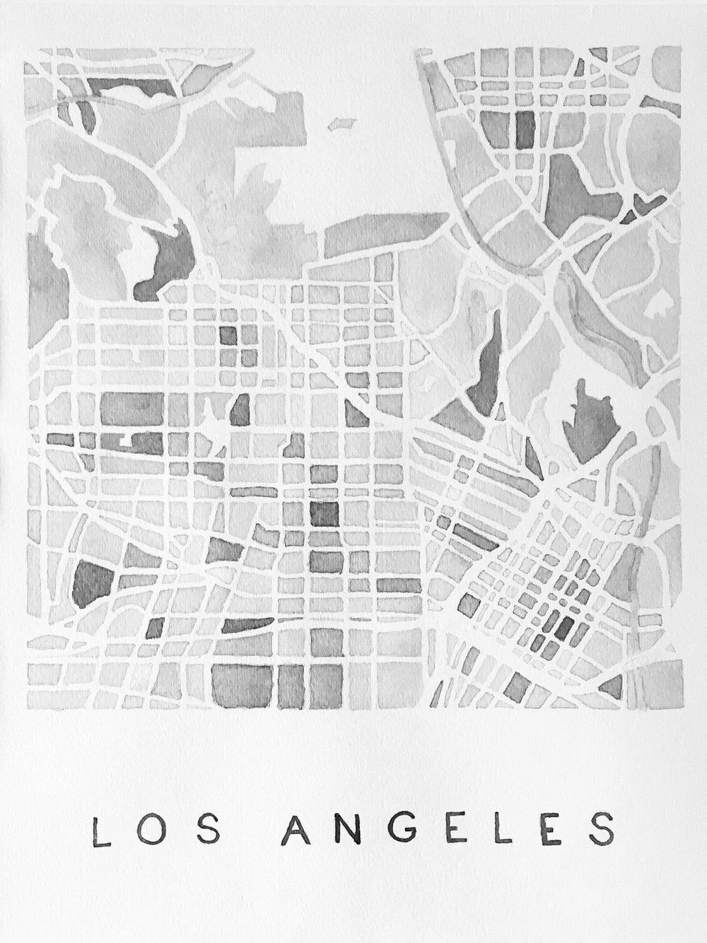 LA, Inkwash, 2015
