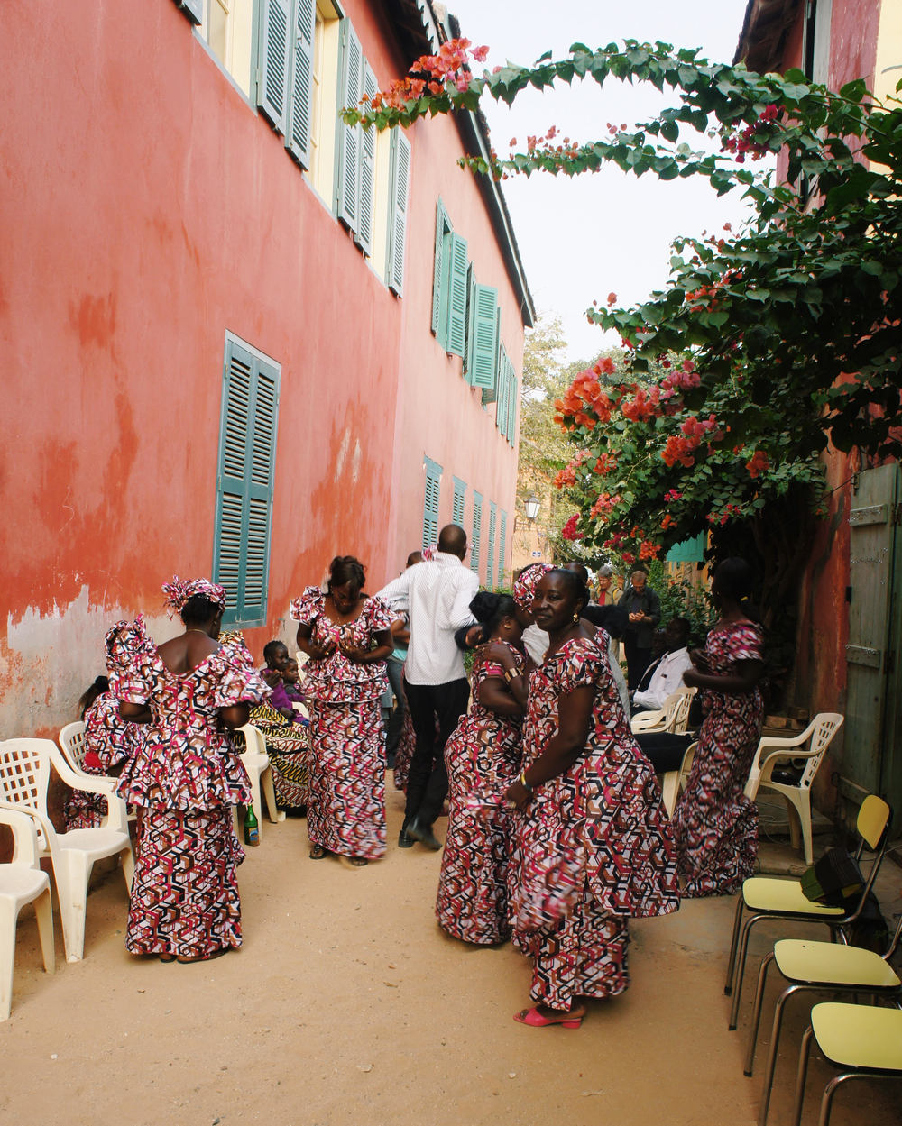 A Goree Island wedding