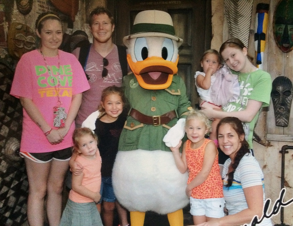 Our last family Disney trip, almost exactly 2 years ago!