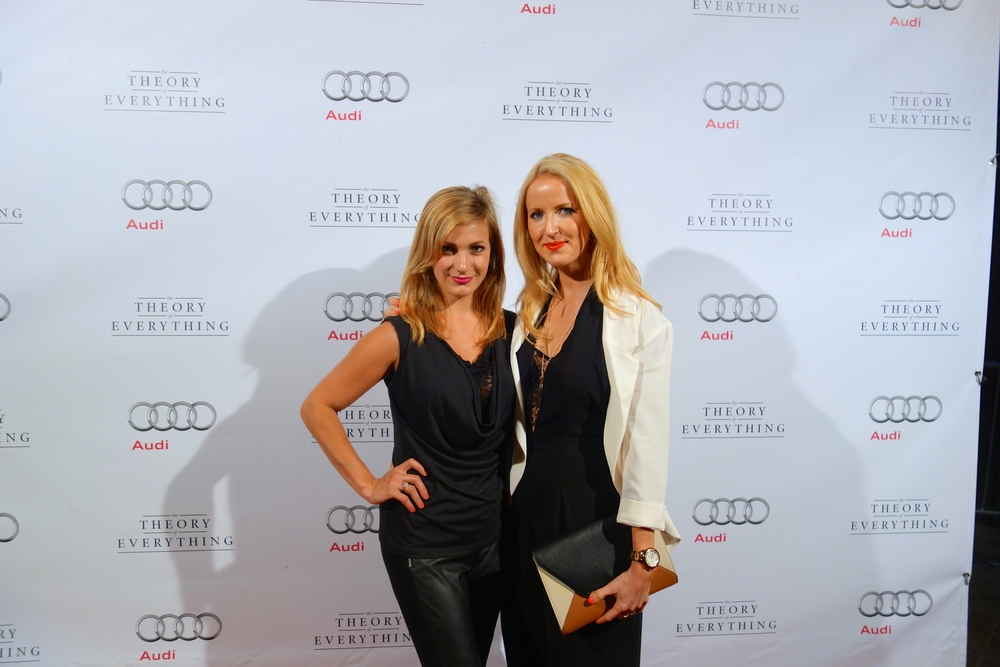 Theory of Everything  premiere, TIFF 2014. Mary-Alice Farina and Trish Rainone
