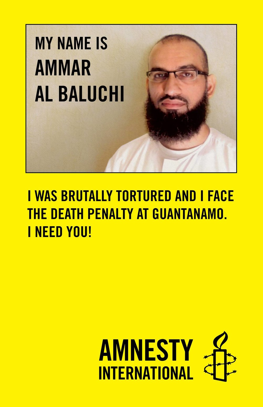 To this day he has never received adequate treatment or rehabilitation for his torture or brain injury. The government claims that even Ammar's own memories of the torture are classified and state secrets, in an attempt to prevent him from telling the world what was done to him.In 2006, Ammar was transferred to the prison at Guantánamo Bay.  Ten years later, he remains a prisoner there, still suffering from the effects of torture. The U.S. government has filed charges against Ammar before the Guantánamo Bay military commissions, for an alleged role in the September 11, 2001 attacks. The case against Ammar and four other defendants has now been in pre-trial proceedings for four years, as the government has interfered with Ammar's attorney-client privileged communications, planted a listening device in the attorney-client meeting rooms, recruited informants on defense teams, and continued the inhuman and degrading treatment of Ammar and other prisoners at Guantánamo Bay.  -