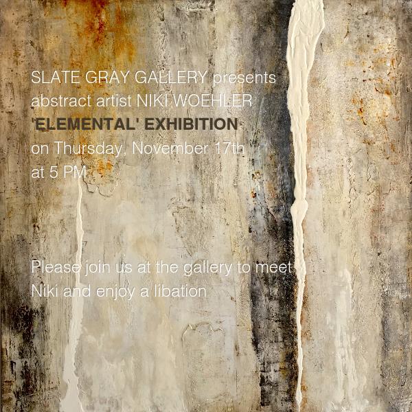 Niki Woehler Abstract Artist   Elemental Exhibition