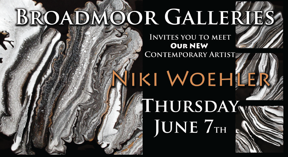 broadmoor gallery opening invite   Niki Woehler Abstract Artist