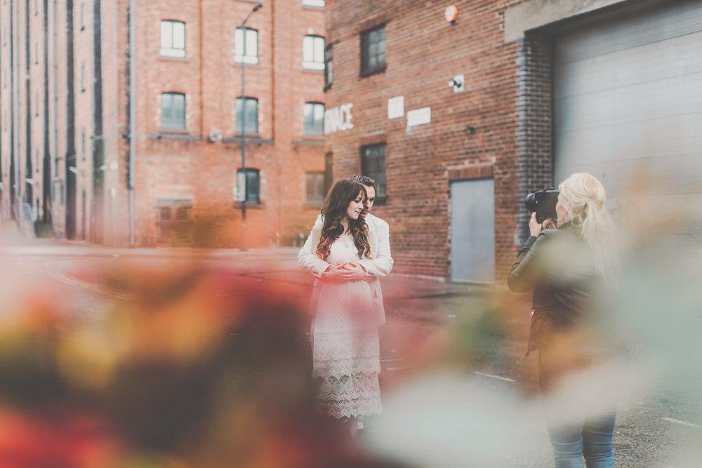 2 brides live shoot uk photography confrence