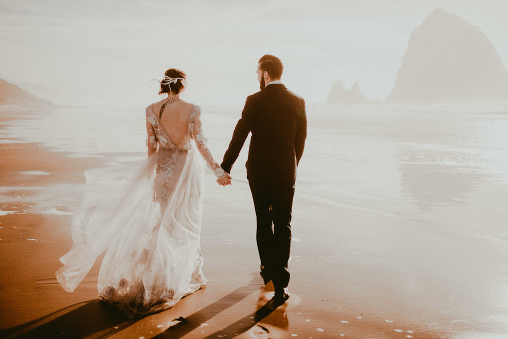 cannon beach oregan wedding photographer