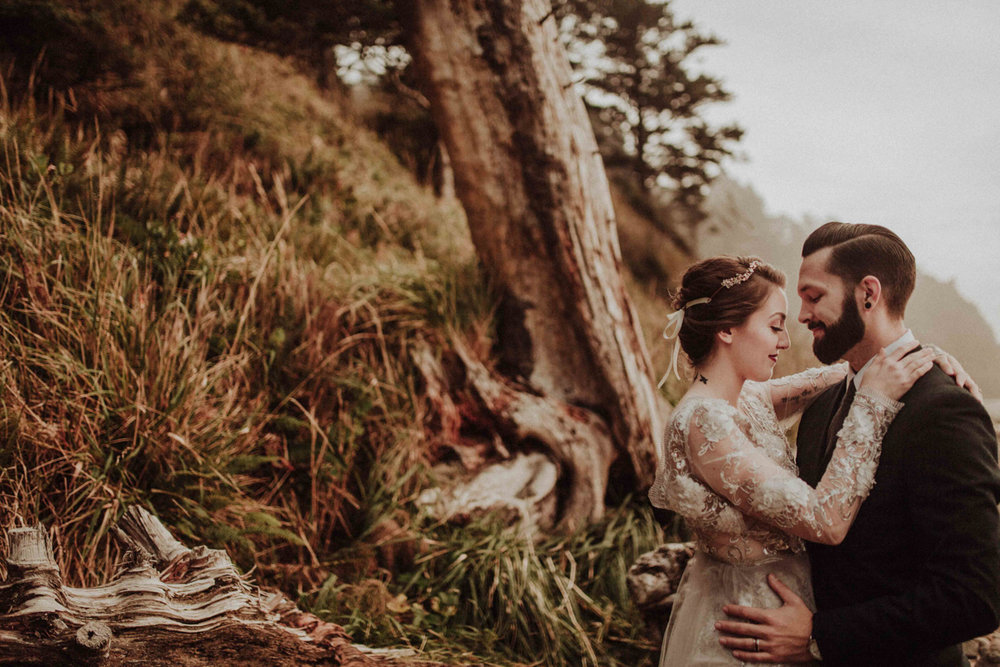 pnw elopement photos