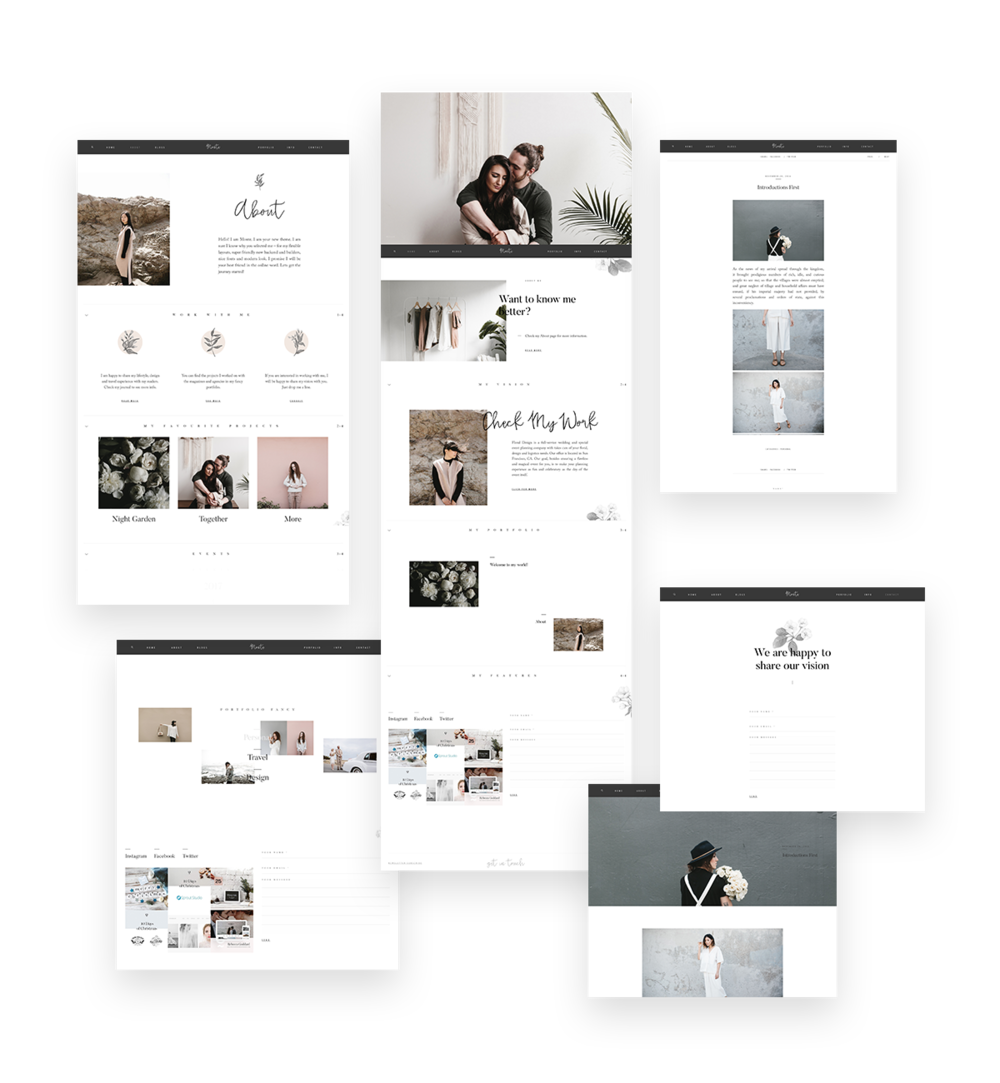 elegant wordpress theme for photographers